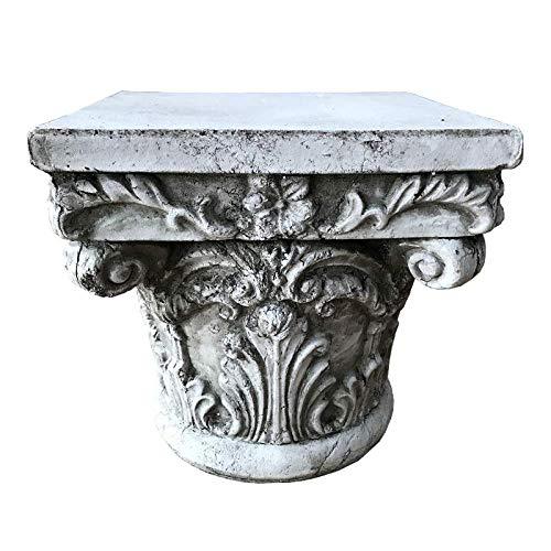LXYZ Colonna Romana Statua Greca Patio Esterno Ornamenti Cortile Arte Colonna Romana Decorazioni per Matrimoni, Grigio