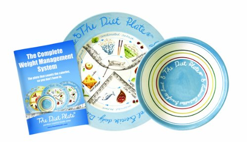 The Diet Plate Assiette et bol femelle