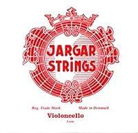 CUERDA VIOLONCELLO - Jargar (Roja) (Cromo) 4ェ Fuerte Cello 4/4 (C) Do (Una Unidad)