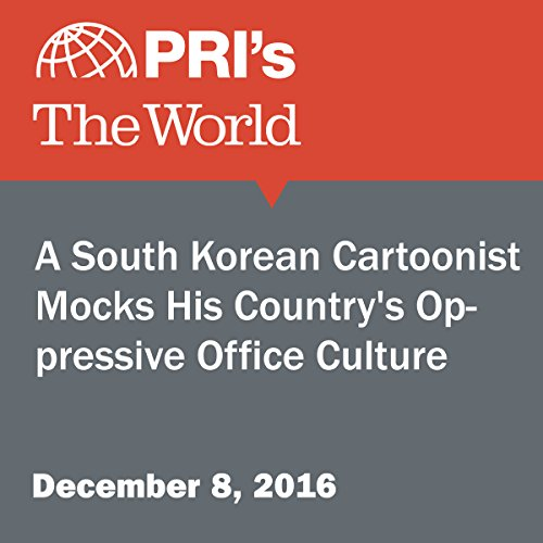 A South Korean Cartoonist Mocks His Country's Oppressive Office Culture audiobook cover art