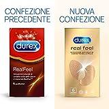 Zoom IMG-2 durex real feel preservativi senza