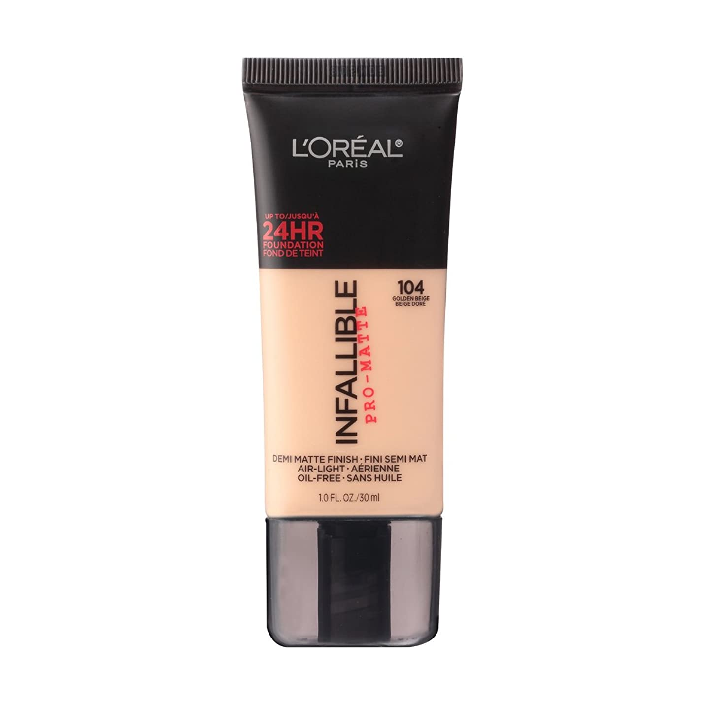 象従者損なう(6 Pack) L'OREAL Infallible Pro-Matte Foundation - Golden Beige (並行輸入品)
