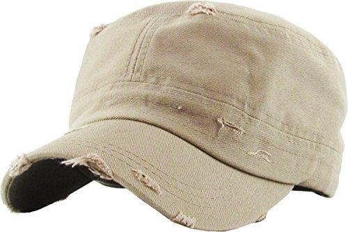 KBETHOS KBK-1466 KHK Pure Cotton Twill Adjustable Cadet GI Hat