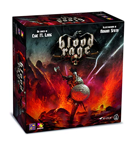 Asterion 8730 – Blood Rage, edición Italiana, Multicolor