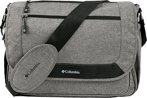 Columbia Departure Point Messenger Diaper Bag, Grey