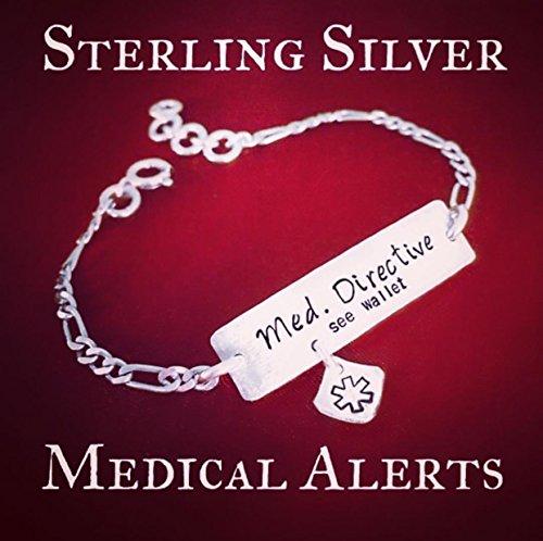 Custom made design your own bracelet. Medical Alerts, Don't Give Up, Best Life Ever, Wedding Anniversary, Children's Names etc.