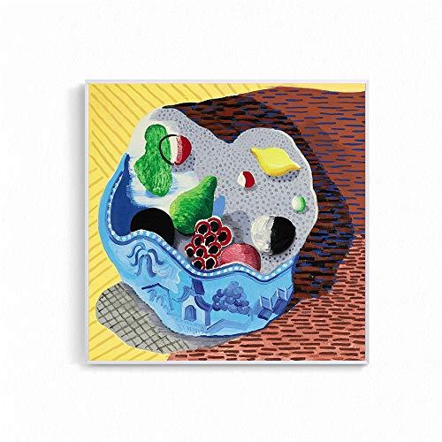 Frameloos Moderne landschapsstijl foto's voor de woonkamer David Hockney Garrowby Hill Canvas schilderij Home Decor muur Posters