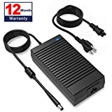 185W Dell Alienware Charger, 185W 19.5V 9.5A Dell Charger for Dell Alienware 13 15 17 R1 R2 R3 R4 R5 M14X M11X M17X M15 M17; Precision 7510, 7520, M4600, M4700, M4800, M6400, M6500, M6600, M6700