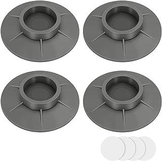 Lot de 4 pieds anti-vibrations universels pour machine à laver, anti-vibration, antidérapant et anti-bruit, 4 cm TUP Antic...