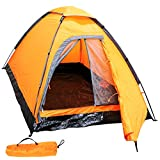 MERMONT テント キャンプ アウトドア キャンピングテント 2人用 防水 キャンプ用品 簡単組立テント