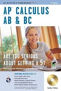 AP Calculus AB & BC, plus Timed-Exam CD-Software (Advanced Placement (AP) Test Preparation)