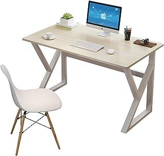 CDTO Simple Moderna Mesa De Ordenador En Parama De K Marco De Acero Inicio Mesa De Oficina Durable Escritura Escritorio D...