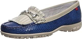 MARC JOSEPH 纽约女式皮革巴西雷克顿高尔夫鞋