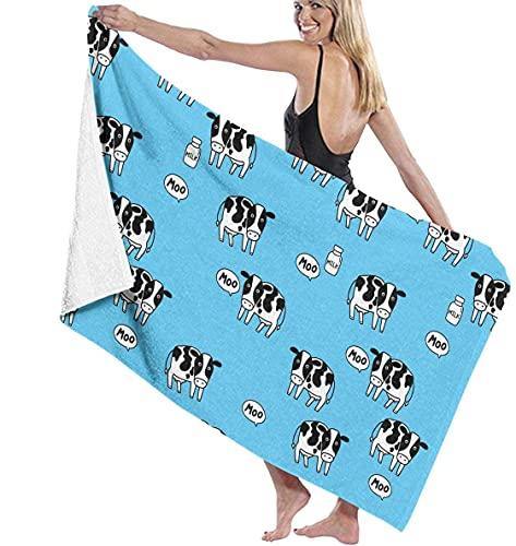 Piscina de Microfibra Toalla de Playa Vaca y Leche Toalla de baño de Secado rápido Toallas de Surf Estera de Yoga