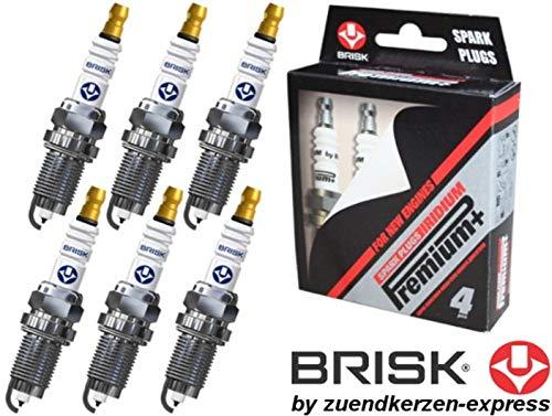 Brisk Iridium Premium+ Plus P3 1621 Bougies d'allumage, 6 pièces