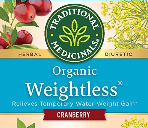 Traditional Medicinals Organic Weightless Cranberry Women's Tea, 16 Tea Bags (Pack of 2)