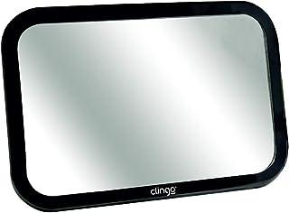 Espelho Retrovisor Retangular Square Para Auto, Clingo, Preto, Tamanho Único