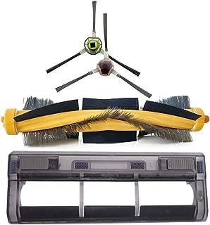 Części odkurzacza Pędzel rolkowy + pokrywa + pędzel boczny Repalcement Fit dla Ecovacs DEEBOT OZMO 930 Akcesoria odkurzacz...