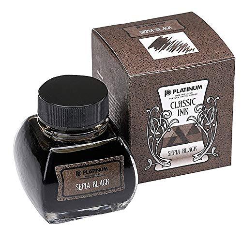 プラチナ万年筆 ボトルインク クラシック 66 セピアブラック INKK-2000-66