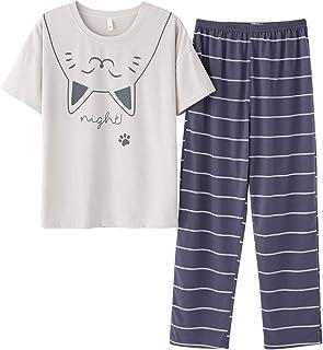 Sponsored Ad - Panda Pajamas for Girls Size 2T-16 Toddler Little Kids Short Sleeve & Pants Clothes Set PJ Pal Sleepwear