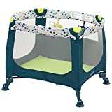 Safety 1st Happy Space Play Yard, Confetti Blue