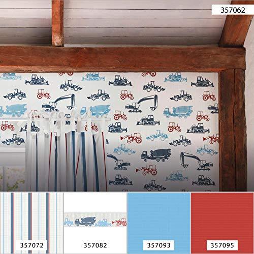 Esprit Tapete Traktor Weiß Blau Rot 357062 | Tapete Kinderzimmer Junge 35706-2 | Vliestapete Kinderzimmer, Jungenzimmer, Jugendzimmer online kaufen!
