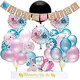 EEIEER Boy or Girl Bannière et kit Ballons Révélateurs de Genre pour Baby Shower...