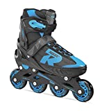 Roces JOKEY2-31 Inline Skates Boy, Black / Blue, 26-29