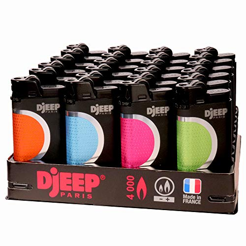 24 Djeep - Hot Touch Lighters Slant Tray