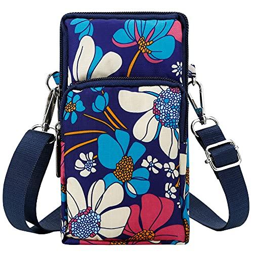 dobsechs Women Mini Bag Crossbody Phone Bag Shoulder Nylon Bags Wallet...