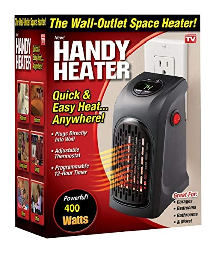 CHESHTA Portable Small Handy 400 Watts Room Heater