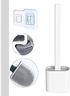 Brosse WC Basic ,Balai WC Brosse WC Silicone,Brosses WC et supports,Brosse Toilette ,Balayette WC blanc,Brosse de Toilette...