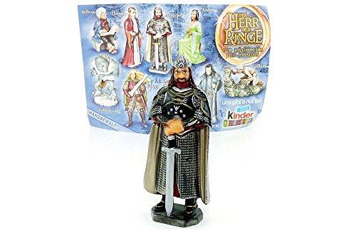 Aragorn der König Figur aus dem Kinder Überraschungsei (Aus dem Film Herr der Ringe III)