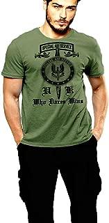 Warface Apparel British SAS T-Shirt UK Spec Ops Who Dares Wins