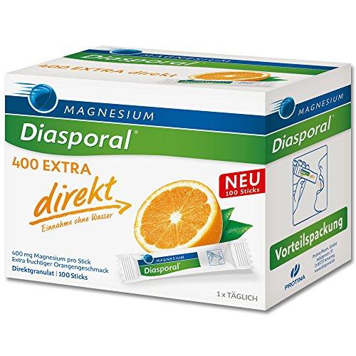 MAGNESIUM MAGNESIUM DIASPORAL 400 Extra direkt Granulat - 100 St Granulat 115942