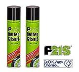 PRAKTISCHES SET 2 x 400ml P21-S Dr WACK PREMIUM REIFENGLANZ Reifenpflege Reifenschutz Reifen-Glanz