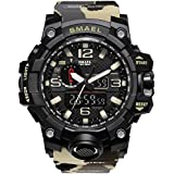 IRELOJ Men's Large Face Dual D...