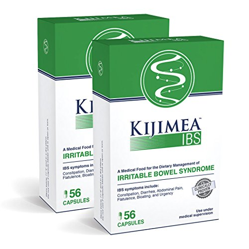 Kijimea™ IBS, Medical Food for The Dietary Management of Irritable Bowel Syndrome 56 Count 2 Pack (112 Capsules)
