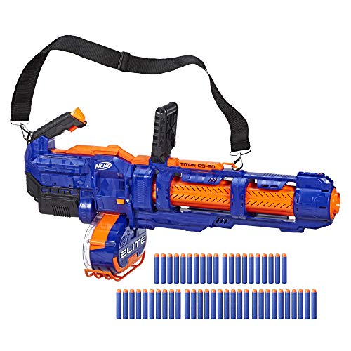 Nerf Elite Titan CS 50 (Hasbro E2865EU5), Multicolor