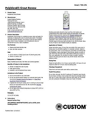 Polyblend #381 8 oz. Bright White Grout Renew Colorant