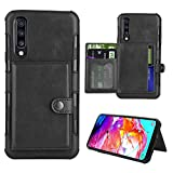 Galaxy A70 Wallet Case, Premium PU Leather with Credit Kickstand...