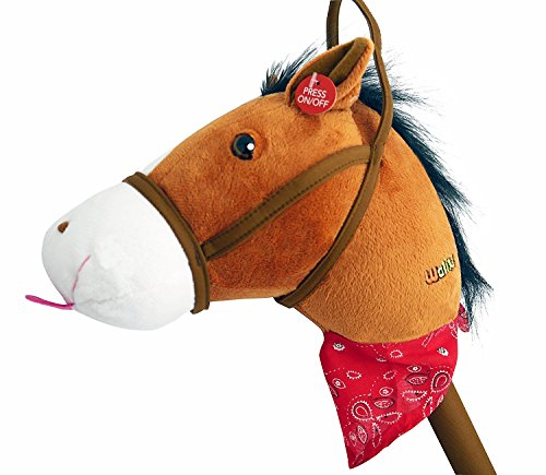 WALIKI Toys Stick Horse (Plush with...