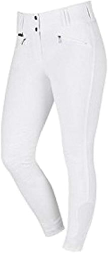 Dublin Supa Embrace Perforhommece Gel Knee Patch Riding Breeches