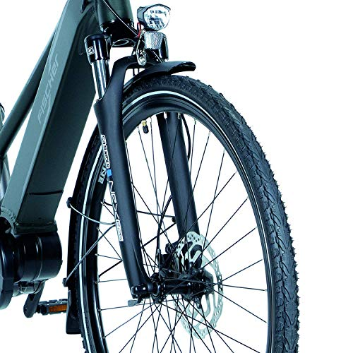 FISCHER Damen – E-Bike Trekking VIATOR 4.0i (2020), grün matt, 28 Zoll, RH 44 cm, Mittelmotor 50 Nm, 48 Volt Akku im Rahmen Bild 6*