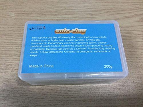 Tech Traders ® Barre d'argile professionnelle pour voiture - 200 g