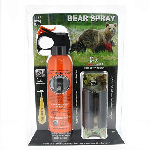 Udap Bear Spray Safety Orange