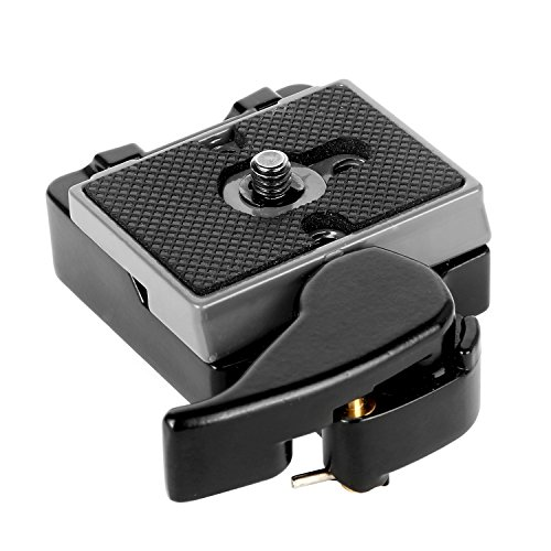 pangshi Camera Quick Release Plate 323 RC2 with Special Adapter 200PL-14 QR Plate