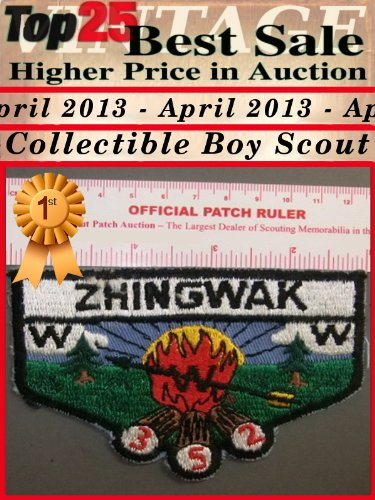 Top25 Best Sale Higher Price in Auction - April 2013 - Collectible Boy Scout (English Edition)