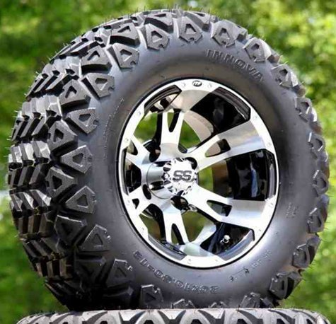 """12"""" RUCKUS Wheels & Tires (LIFT REQUIRED)"""