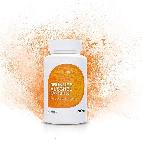 Natrea groene lippschelpcapsules | 150 capsules hoog geconcentreerd ca. 60 dagen gebruik rijk aan omega-3-vetzuren voor gezonde gewrichten en krachtige pezen.